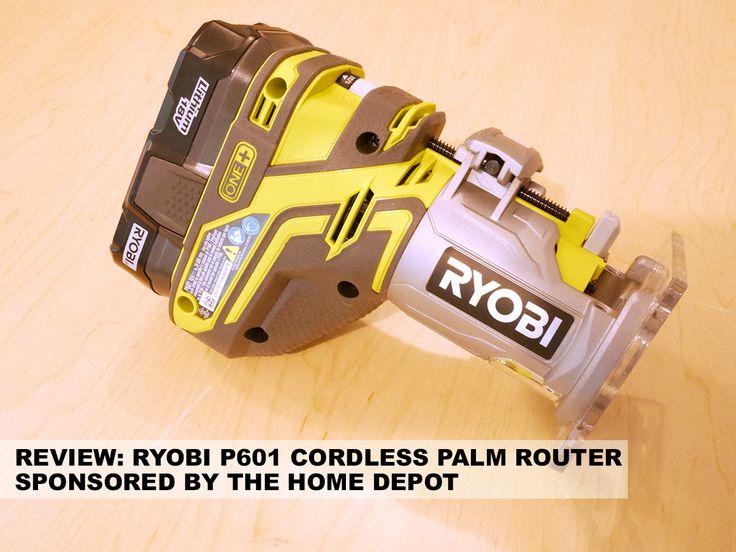 Ryobi P601 Cordless Trim Router Review via @JocieOPC