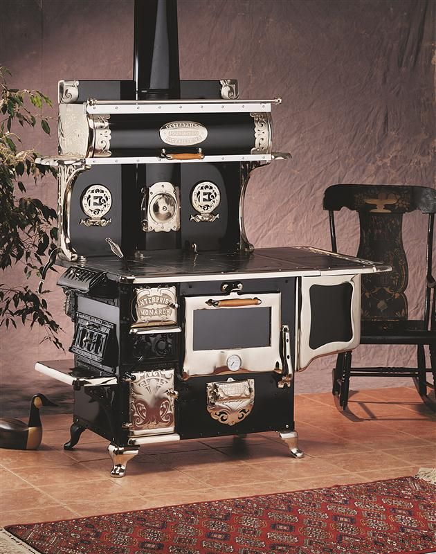 The Enterprise Monarch Wood Cookstove Wood Stove Cooking