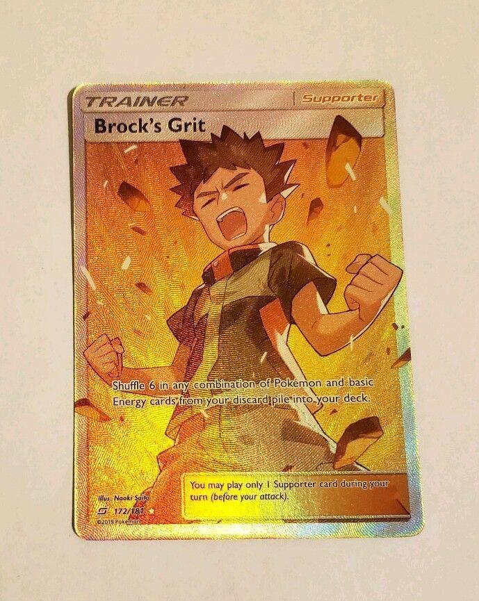 Brock/'s Grit Full Art Trainer 172//181