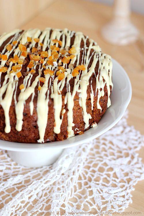 ciasto z daktylowo-imbirowe