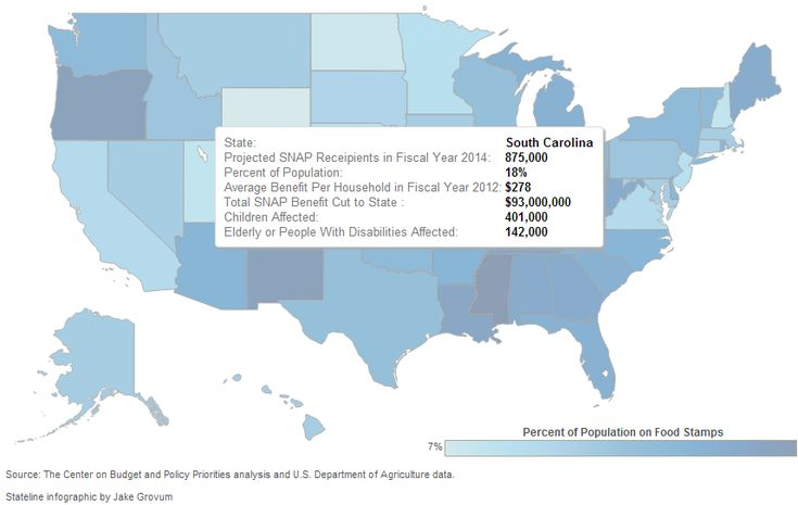 US Heat Map Food Stamp Cuts Interactive HTML Maps Pinterest - Projected heat map of us