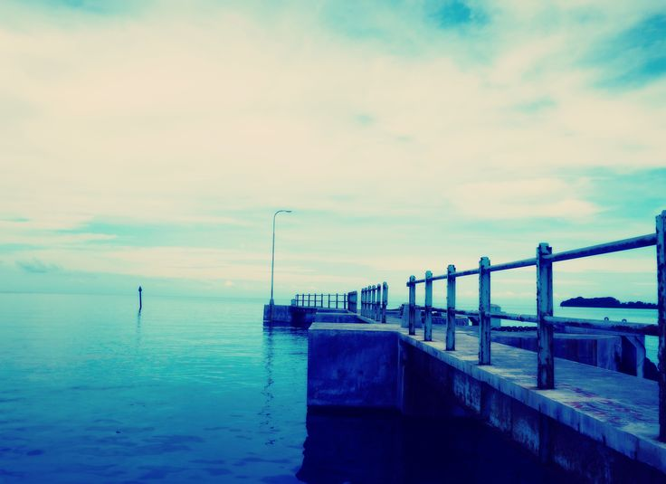 love blue. taken in Karimun Java- Indonesia #photography, #Blue, #Sea