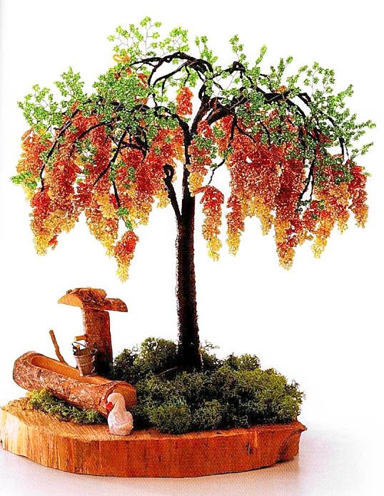 Autumn beaded tree, site needs translation but the pic is good enough.