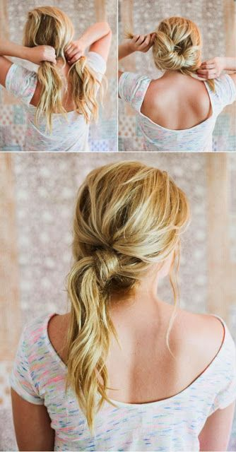 Lazy Girl Hairstyling Hacks #hair_care_tips - My Favorite Things