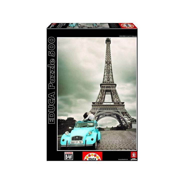 Eiffel Torony - Párizs, Educa Puzzle kirakó 500 db