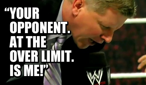 They couldn't fix this?    #wrestling  #wwe  #raw  #john #laurinaitis