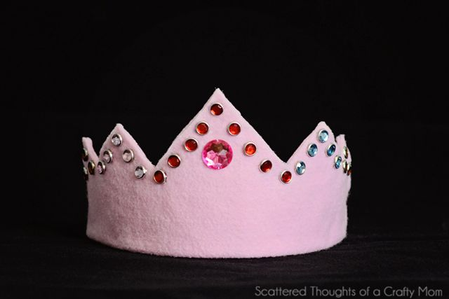 felt/elastic crown tutorial  Scattered Thoughts of a Crafty Mom