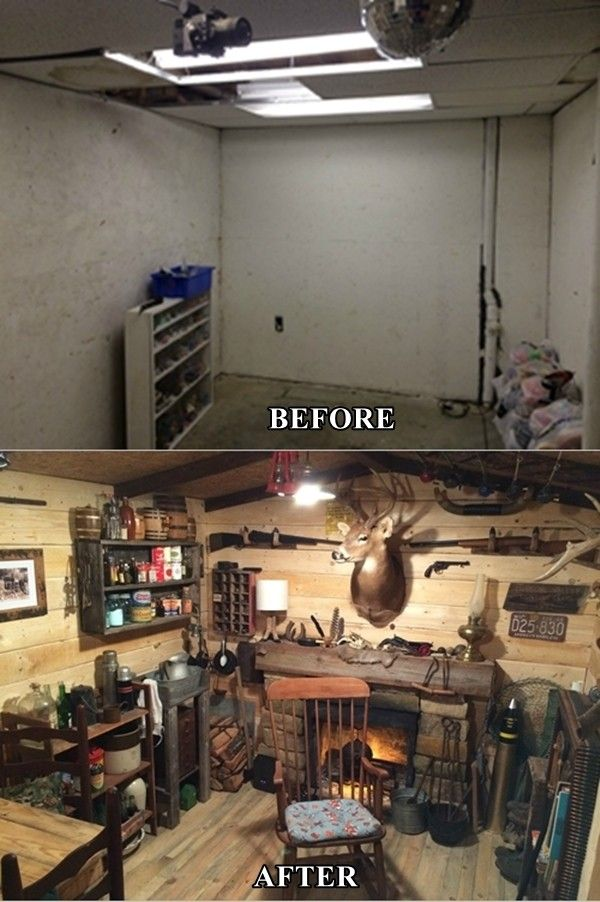 Having A Man Cave That They Can Go And Be By Themselves And Do Things Without Interruption Is The Dre Rustic Man Cave Man Cave Basement Decor Man Cave Basement