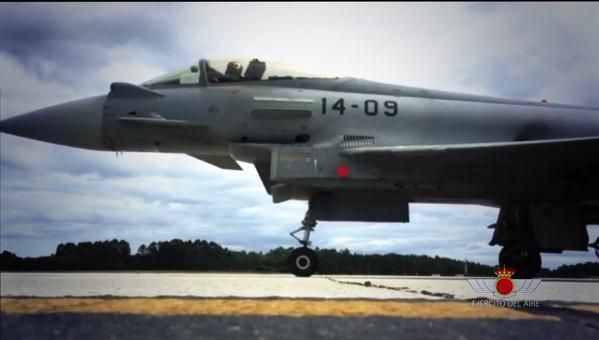 Typhoon del Ala 14; Spanish Air Force