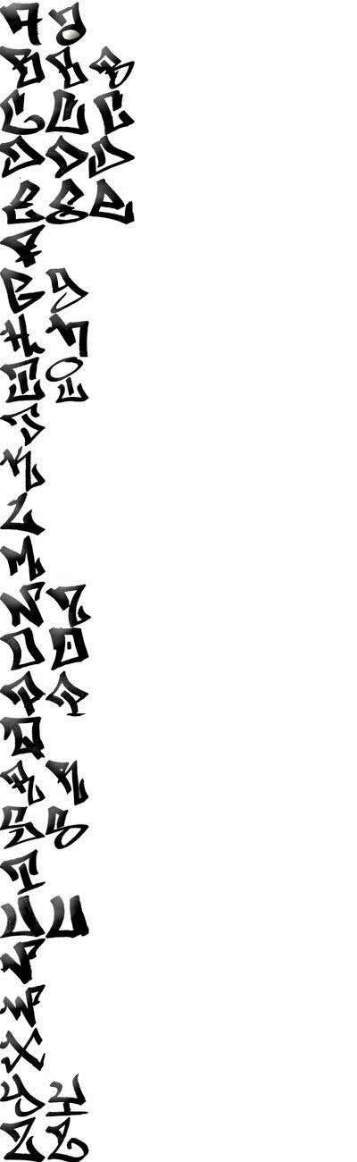 Graffiti Alphabets