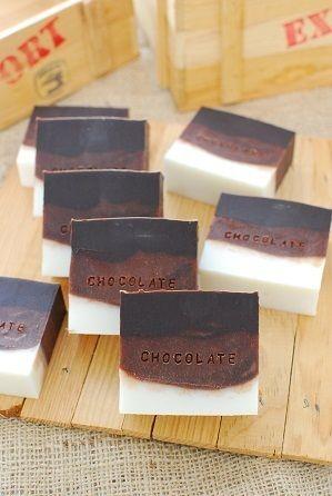 チョコレート石鹸 by オーコさん | レシピブログ