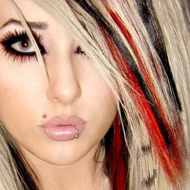 Fantastic 1000 Images About Hair Blonde Red And Black On Pinterest Red Hairstyle Inspiration Daily Dogsangcom