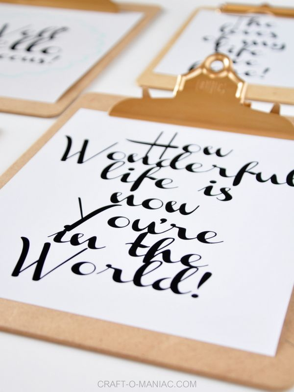 FEE PRINTABLE'S! and paint the silver hardware gold with gold gilding by Martha Stewart.