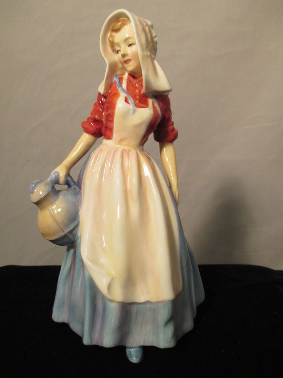 Jersey Milkmaid Royal Doulton Figurine.  HN 2067 by MyRedFlamingo, sold