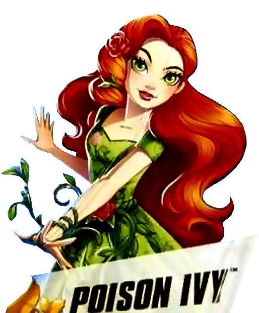 dc superhero girls poison ivy - Google Search