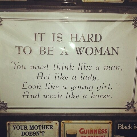 Love being a woman ;)