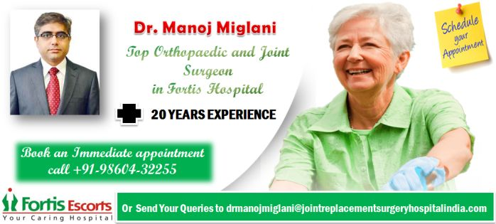 Minimally Invasive Knee Joint Replacement by Dr.Manoj Miglani A Giant Step Forward in Knee Replacement