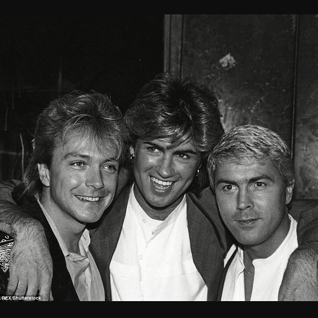 "11 Likes, 1 Comments - Helen Belcher (@yog345) on Instagram: ""With David Cassidy and Mike Nolan . #georgemichael  #singer  #songwriter  #davidcassidy  #mikenolan…"""
