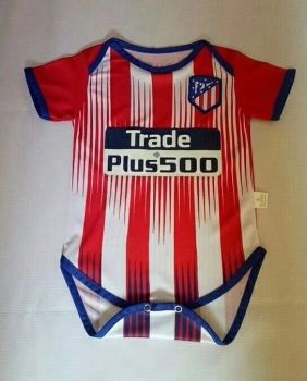 dfa6b3ae050 2018-19 Cheap Infant Jersey Atletico Madrid Home Replica Red Shirt  CFC596