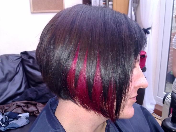 Peekaboo Hair Styles: 145 Best Hair Here, Hair There Images On Pinterest