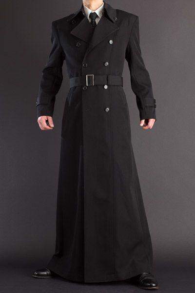 超ロングコート長い着丈155cm、【ナポレオンコート 155 | ロングコート・マント販売 uenoya】