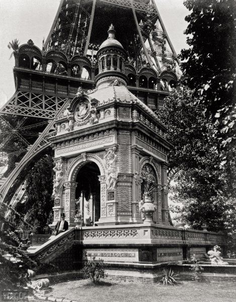 Pavillon des usines Perrusson d'Écuisses , Paris 1889 ~ ღ Skuwandi