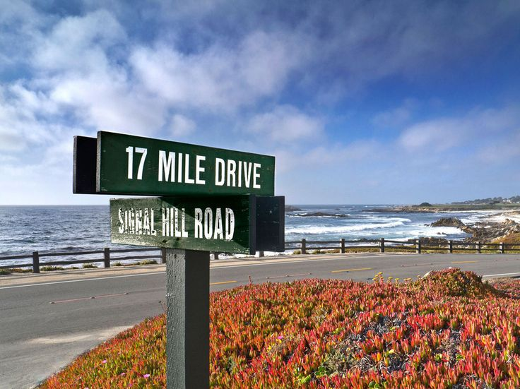17-Mile Drive in Monterey, California, United States of America