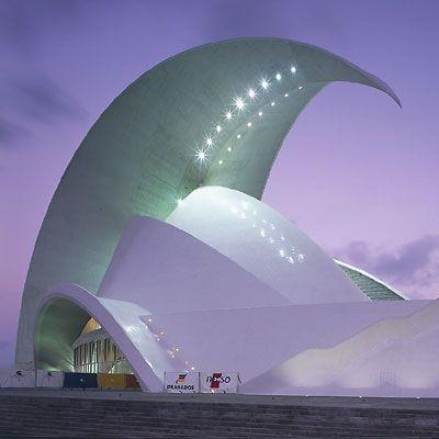 Tenerife Opera House : Canary Islands II Santiago Calatrava