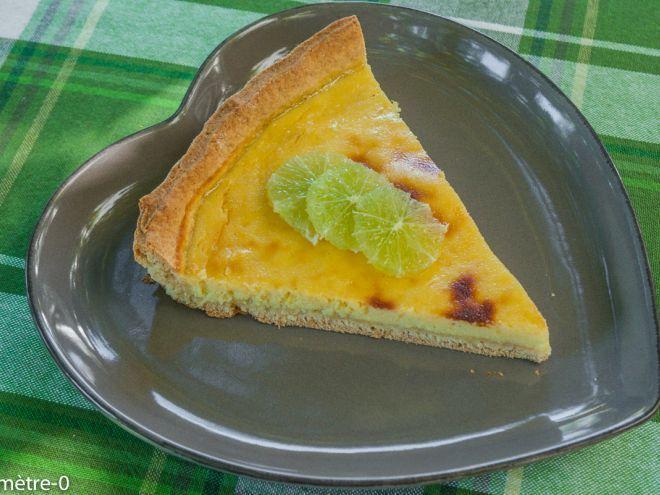 Recette Dessert : Tarte citron ricotta par Kilometre-0
