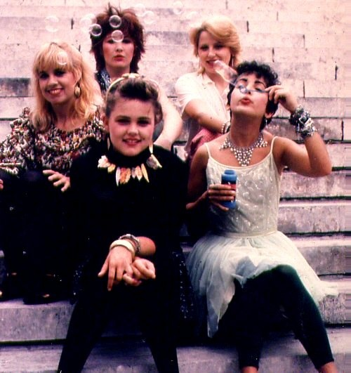 The Go-Gos, the first all-female band to write their own song and play their own instruments to top the Billboard album charts.