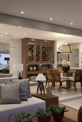 Sala De Estar Facebook ~ salas de jantar e estar em varanda de 32 m² apartamento tem salas de