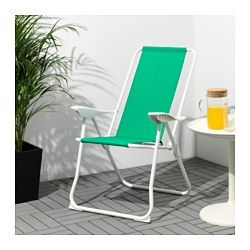 19.99 IKEA - HÅMÖ, Reclining chair, , Made of heavy polyester fabric, which is very durable.The back can be adjusted to five different position.This chair is easy to pack and carry since it is both lightweight and foldable.