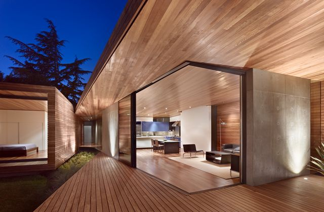 .: Interior, Wood, Mid Century Ranch, Ranch House, Terry Architecture, Space, Bal House, Design