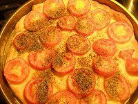 cioccolato amaro: pizza veloce: impasto con patate