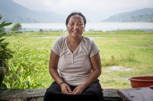 """I've lived in a Tibetan refugee camp here in Nepal for most of my life. If I go back to Tibet I'll be arrested by the Chinese authorities and not allowed to leave. With my family now in Nepal I couldn't do that. Nepal is my home now."" #nepal #tibet #china #refugee"