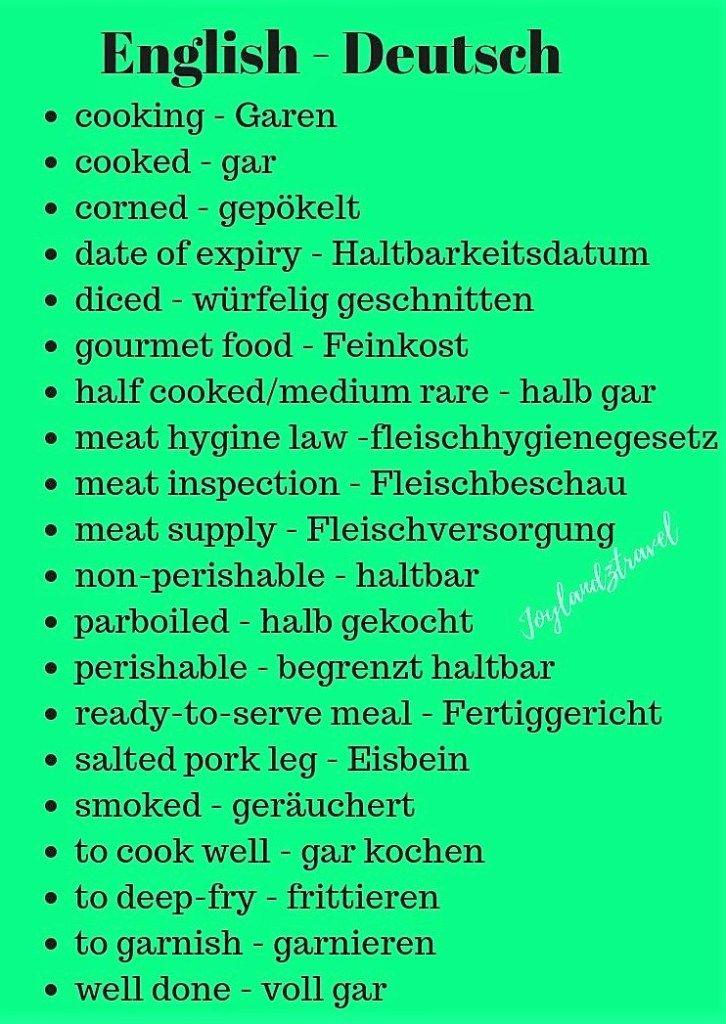 German English language – Daniela Arias