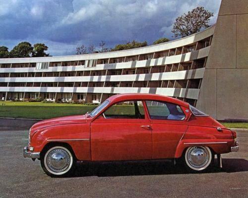 1964-Saab-Automobile-Photo-Poster-zm2562