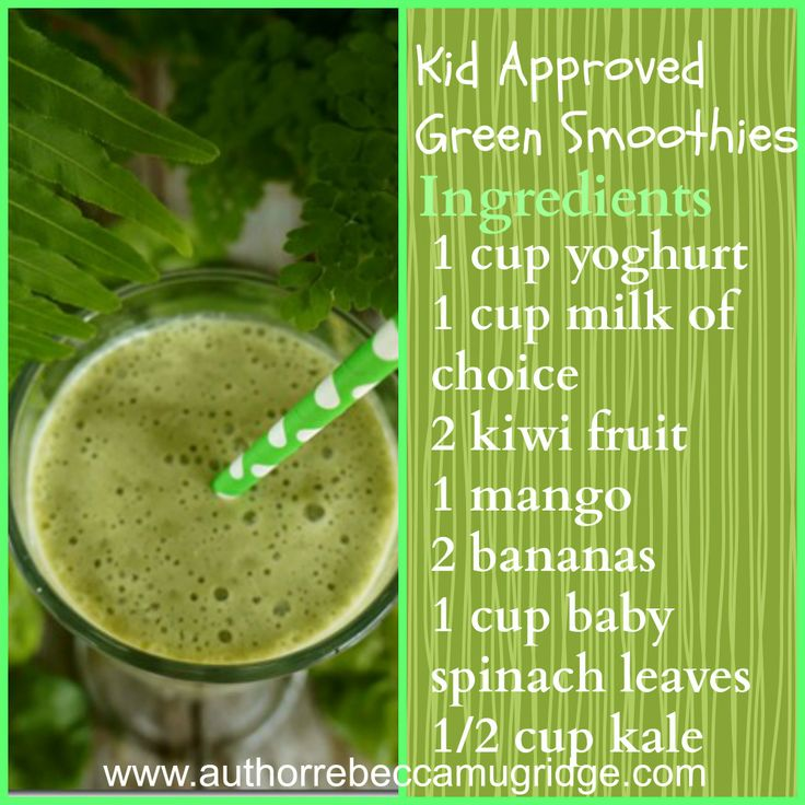 Kid Approved Green Smoothies #greensmoothies #healthykids #breakfastideas #kidseatinggreens #eatwell #kids