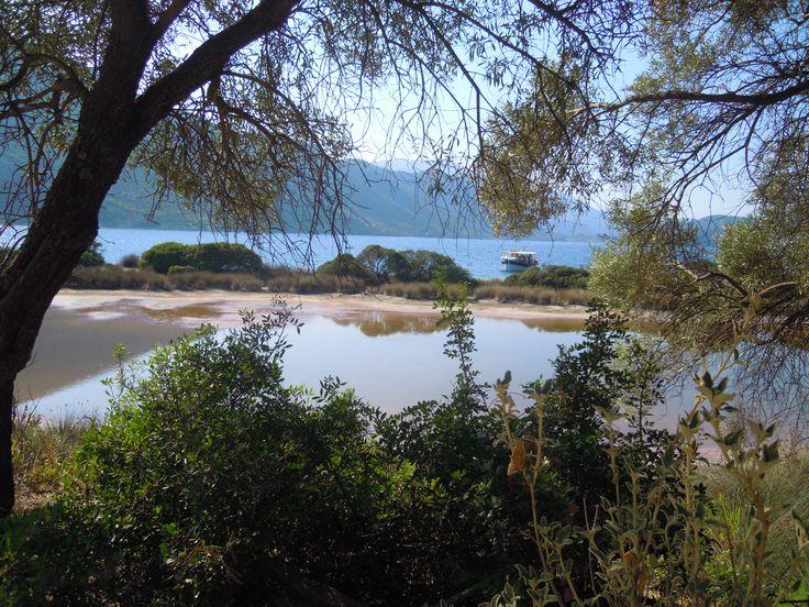 Lake in Agios Ioannis, Spartochori Meganisi