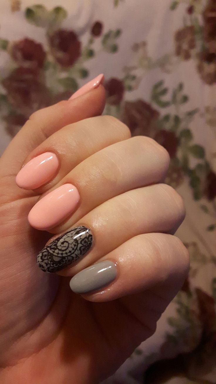 Semilac sleeping beauty and stylish gray