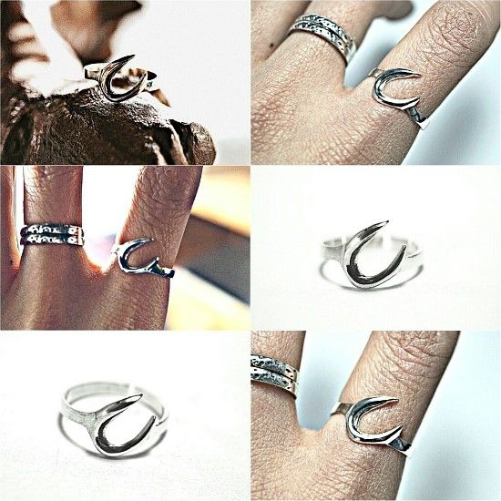 boomerang ring 부메랑 반지 by 메덴아간Meden agan