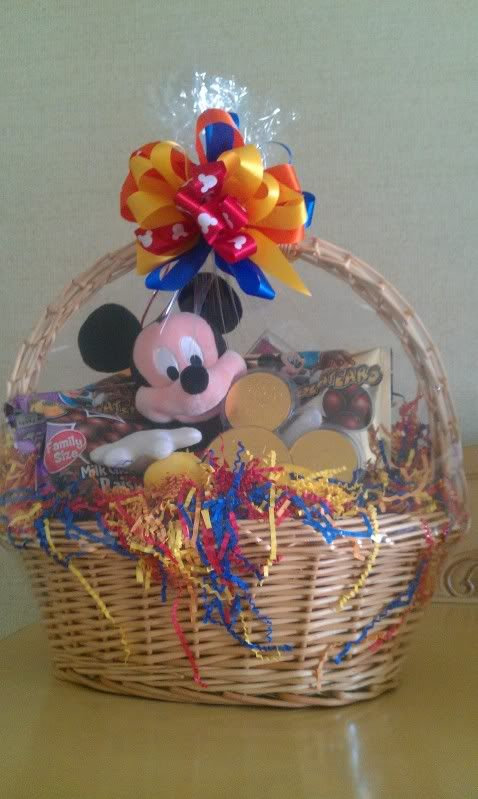 Disneyland Gift Baskets | Gift Baskets Through Disney Vacation Planning  (pics Inside)   The. Gift Baskets For KidsValentine ...