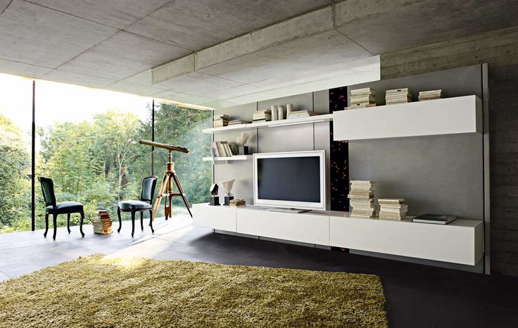 Neofid modular wall unit collection les contemporains roche bobois cagliari - Roche bobois contemporain ...