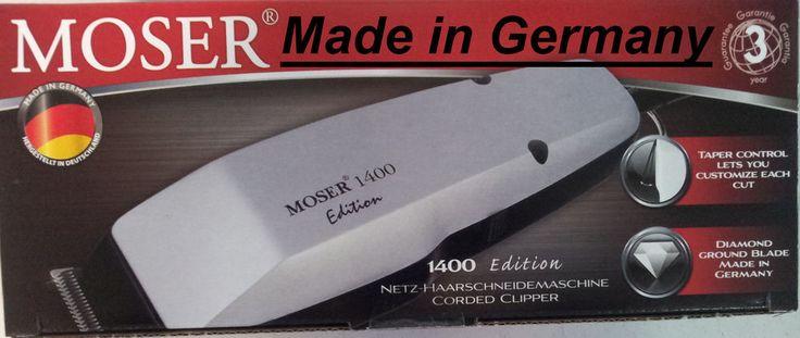 Moser 1400 Haarschneider  Made in Germany  kraftvoller, starker Motor  NEU
