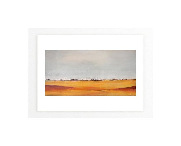 """""""Rolling Plains"""" - Art Print by Megan Kelley in beautiful frame options and a…"""