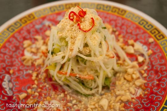 Satay Brothers – Green Papaya Salad