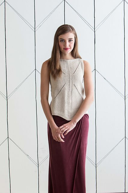 Hanky Tank | by Joan Forgione from knit.purl Spring/Summer 2015 #tttkal