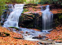 Top 40 Waterfalls in NC with small hikes