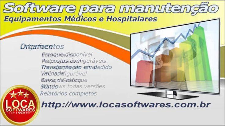 software manutenção de equipamentos medicos e hospitalares