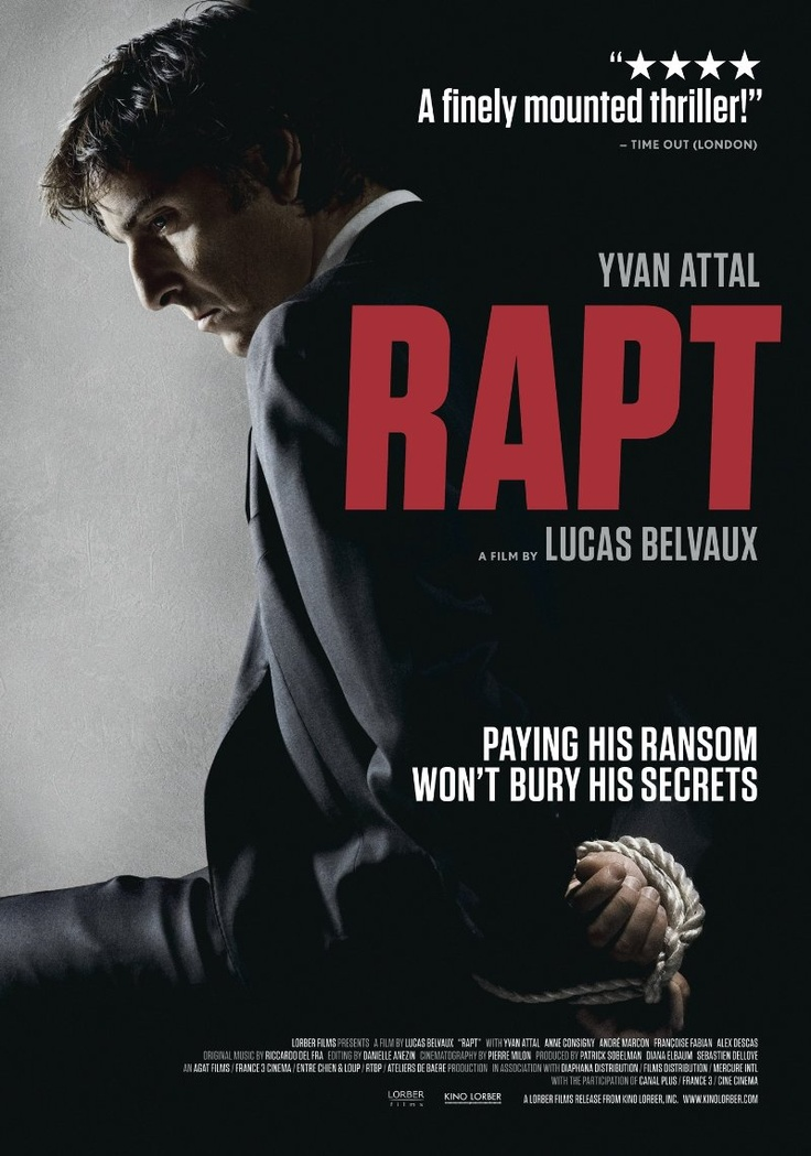 Rapt (2009) Movie posters, Thriller, His double life